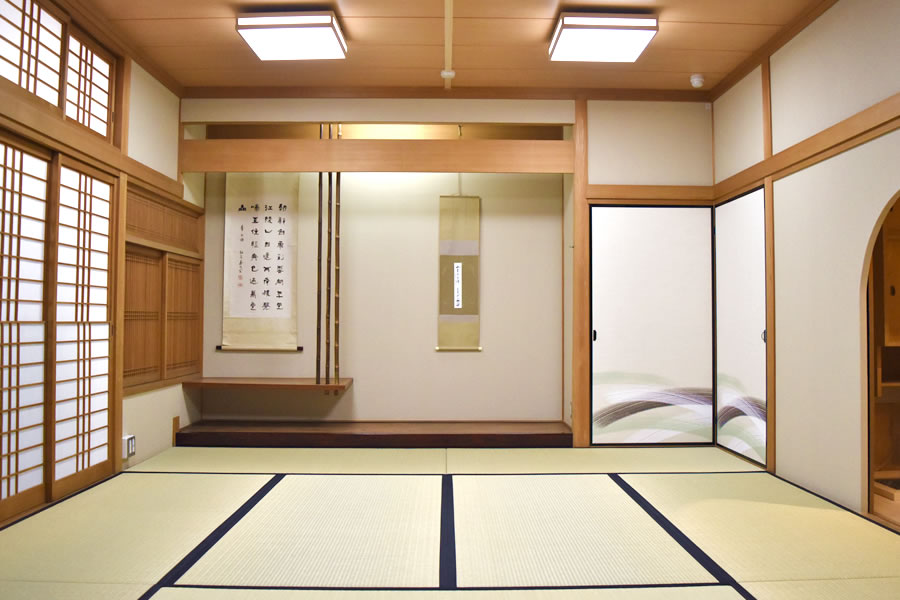 姫路市立勝原市民センター:和室